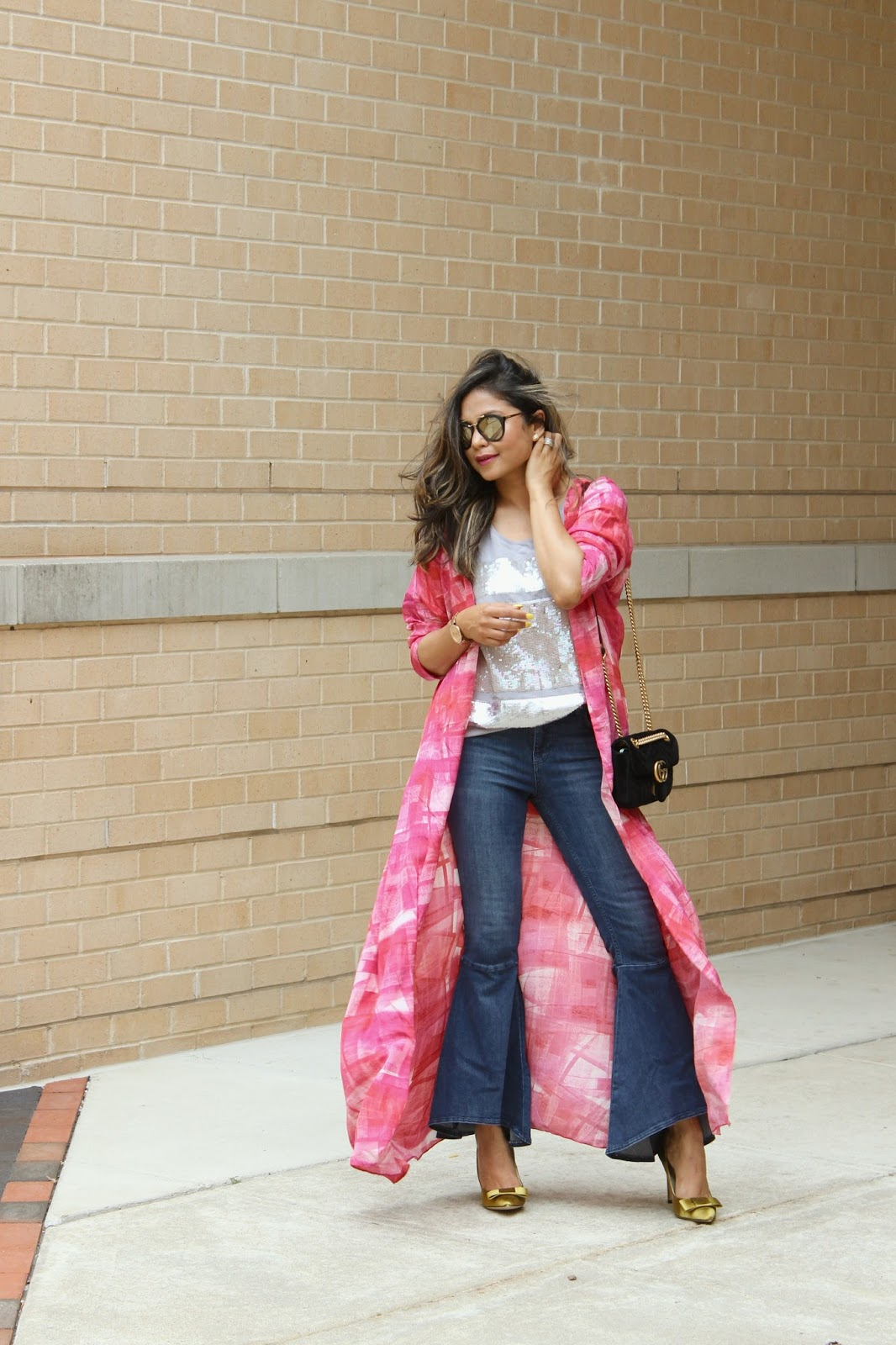 the cape story, fashion blogger, how to wear flare ruffle jeans and cape, street style, bohemian look, ootd, Indowestern, fusion wear , myriad musings