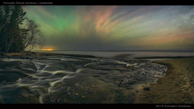 Csodás légkörfényt fotóztak Michiganben