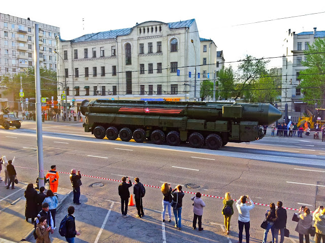Victory Day Parade Rehearsal 2016 Moscow, Russia