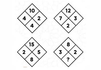 حل لغز ماهو الرقم الناقص الذي يوضع مكان علامات الاستفهام