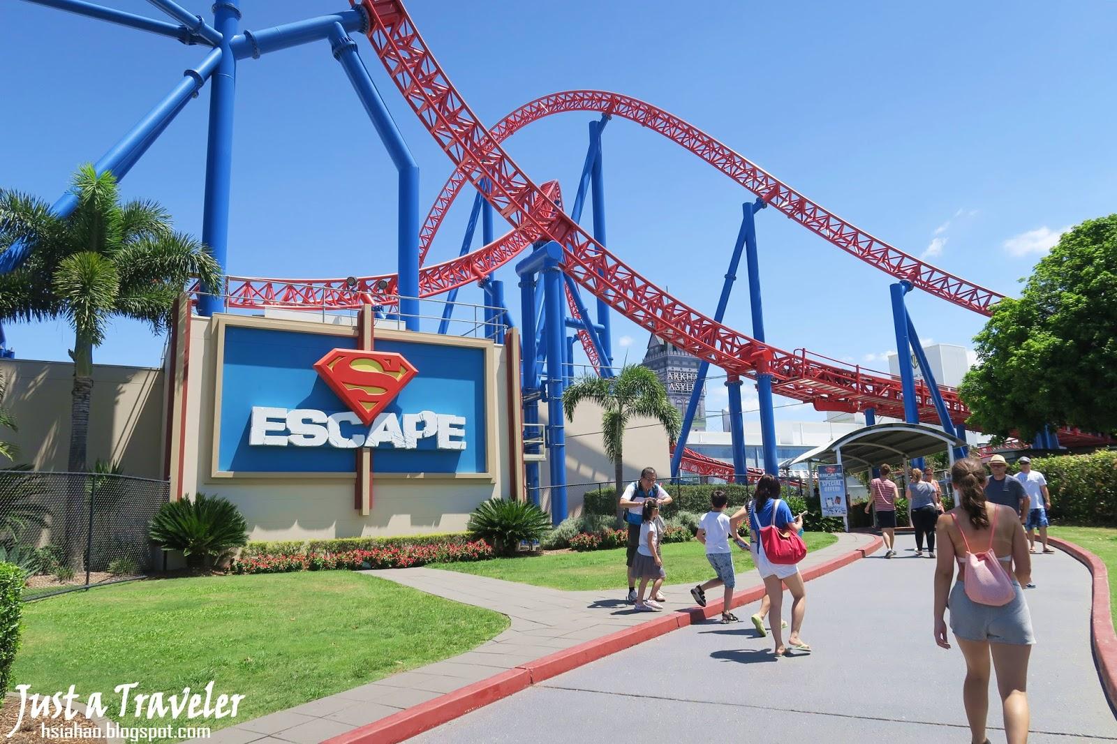 黃金海岸-景點-推薦-主題樂園-遊樂園-電影世界-好玩-必玩-旅遊-自由行-澳洲-Gold Coast-Theme-Park-best-Attraction-movie-world