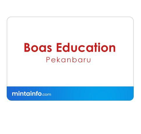 Lowongan Kerja Boas Education Pekanbaru Terbaru Hari Ini, info loker pekanbaru 2021, loker 2021 pekanbaru, loker riau 2021
