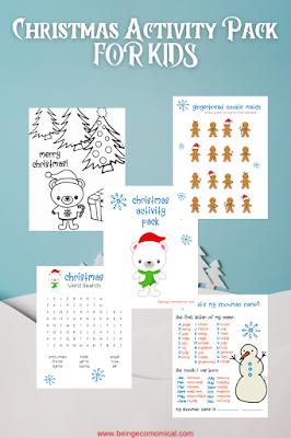 christmas worksheets pdf