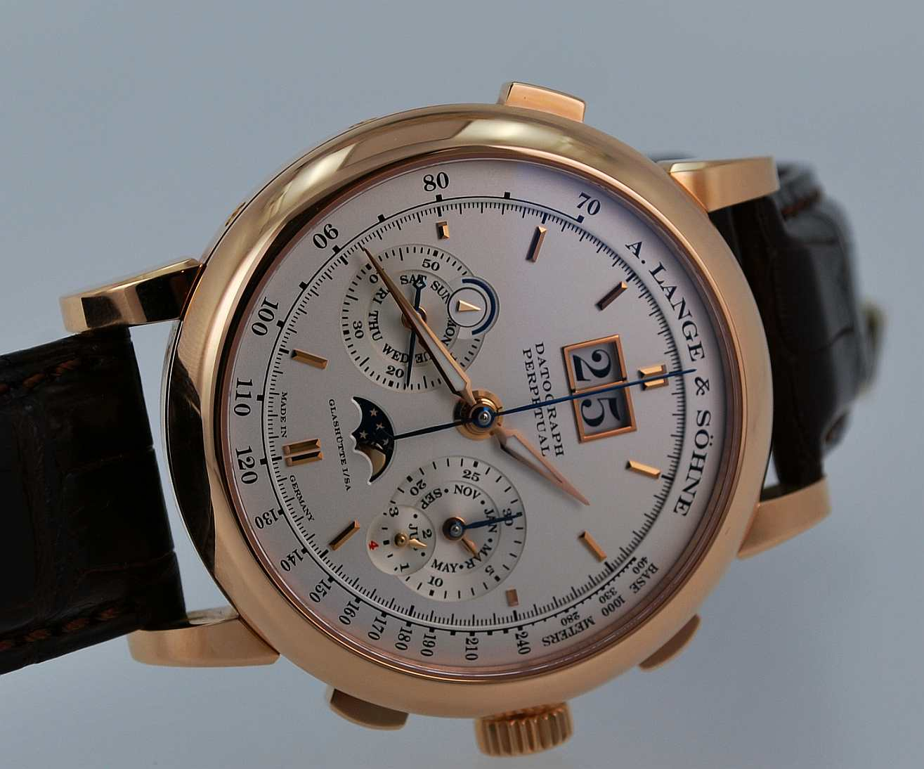 Wristwatch pictures: Lange Datograph perpetual