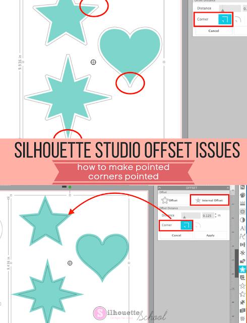 Silhouette 101, Silhouette America Blog, silhouette studio, offset tool, silhouette hack