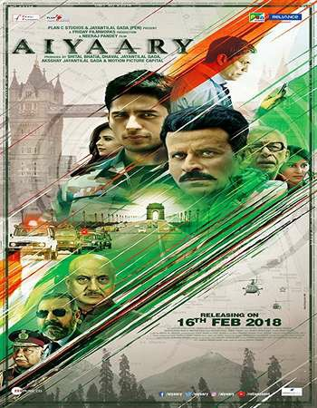 Aiyaary (2018) Full  Movie Download 480p 720p 1080p