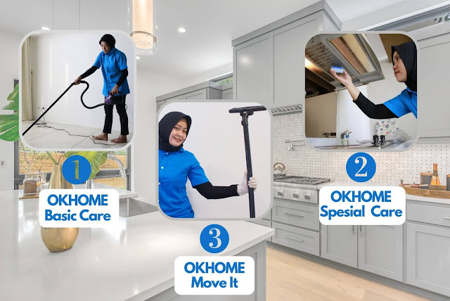 Layanan Kebersihan Rumah OKHOME