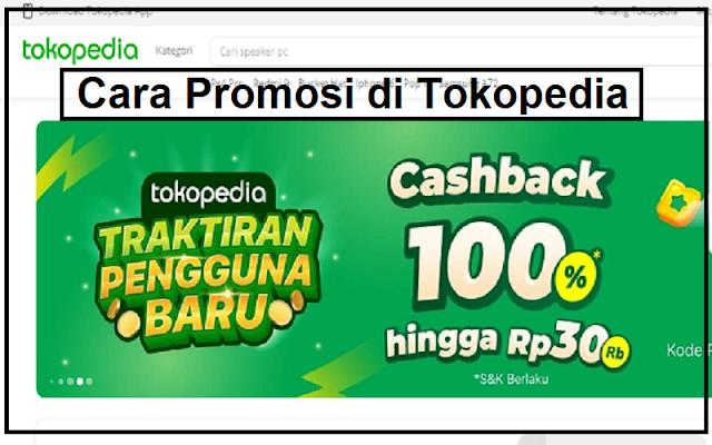 promosi di tokopedia