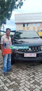 Pengiriman Mobil Mitsubishi Triton dari Surabaya tujuan ke Pontianak dengan kapal roro dan driving, estimasi perjalanan 2 hari oleh Ekspedisi FARHIYAtrans..