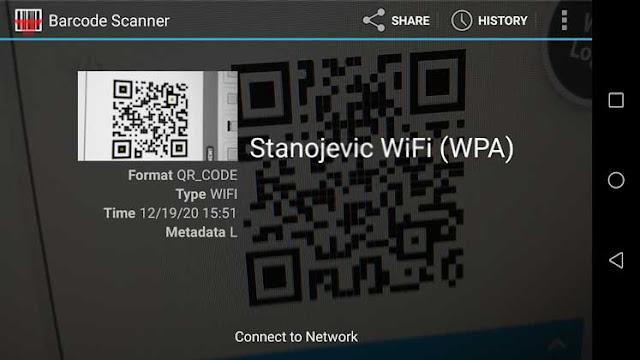 Kako da generišete QR kod sa WiFi šifrom ili kontakt podacima?