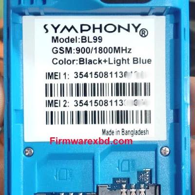 Symphony BL99 Flash File