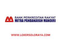 Lowongan Kerja Boyolali AO Funding dan Lending di BPR Mitra Pandanaran Mandiri
