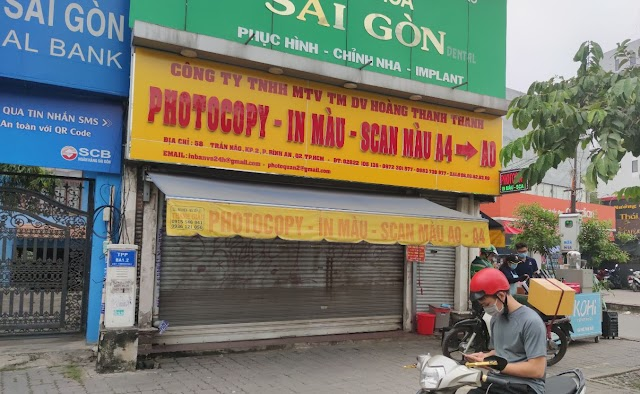 Địa chỉ quán Photocopy-in-màu-scan màu A4-A0: 58 Trần Não, Bình An, Quận 2