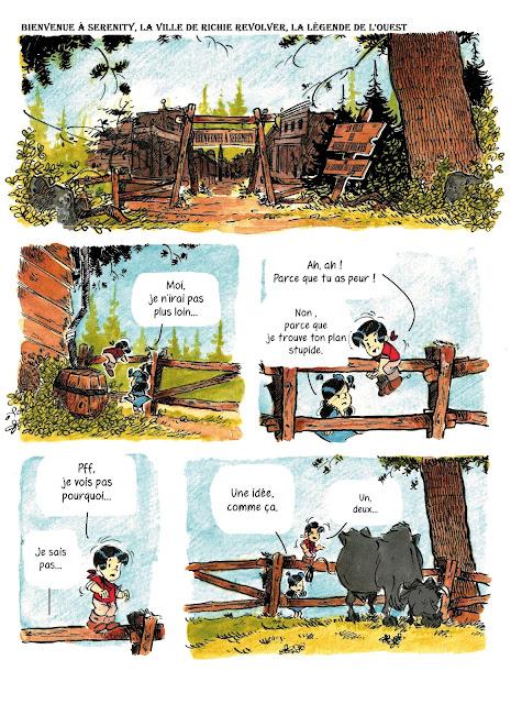 Jack et le Jackalope aux éditions Makaka page 4