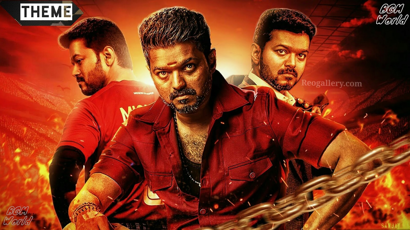 Bigil Trailer Bgm - Original Background Theme Music - Mp3