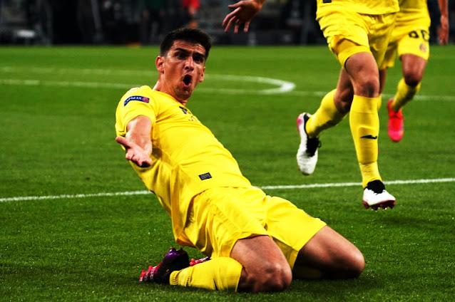 فياريال الإسباني يْتوج بطلًا للدوري الأوربي على حساب مانشستر يونايتد بركلات الترجيح