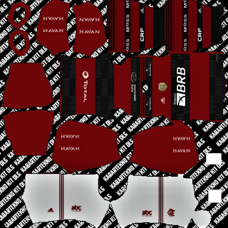 Flamengo Home Kits DLS 2021