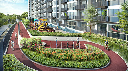 Westwood Residences - Bike Trail