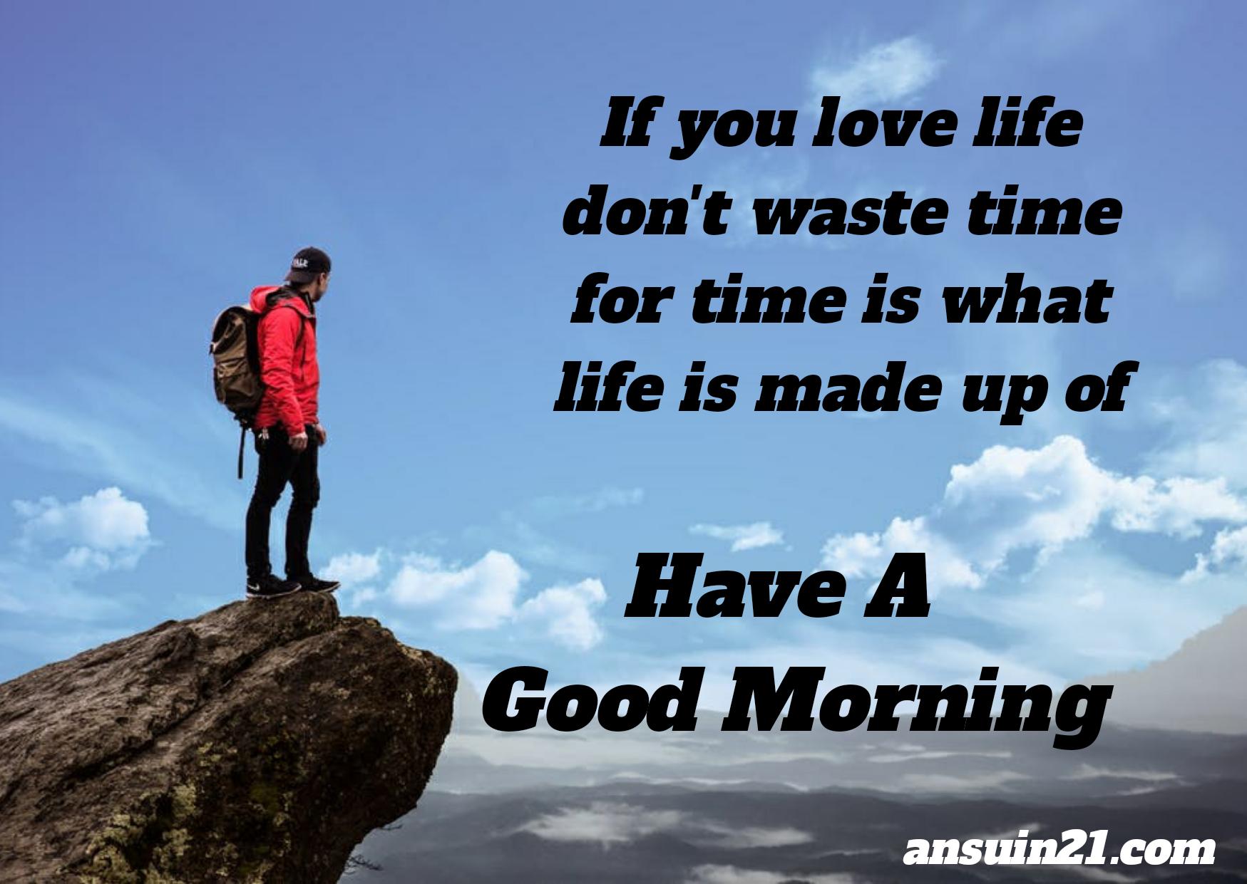 Beautiful good morning image status wishes