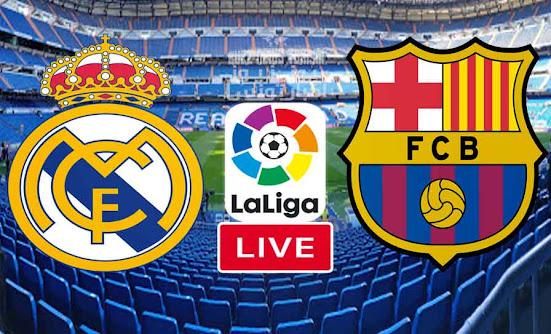 بث مباشر مباراة كلاسيكو ريال مدريد وبرشلونة