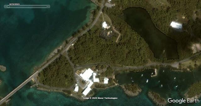The Deep BUS site on Hospital Island 23 August 2003