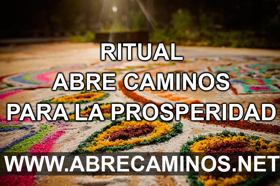 Ritual Abre Caminos para la prosperidad