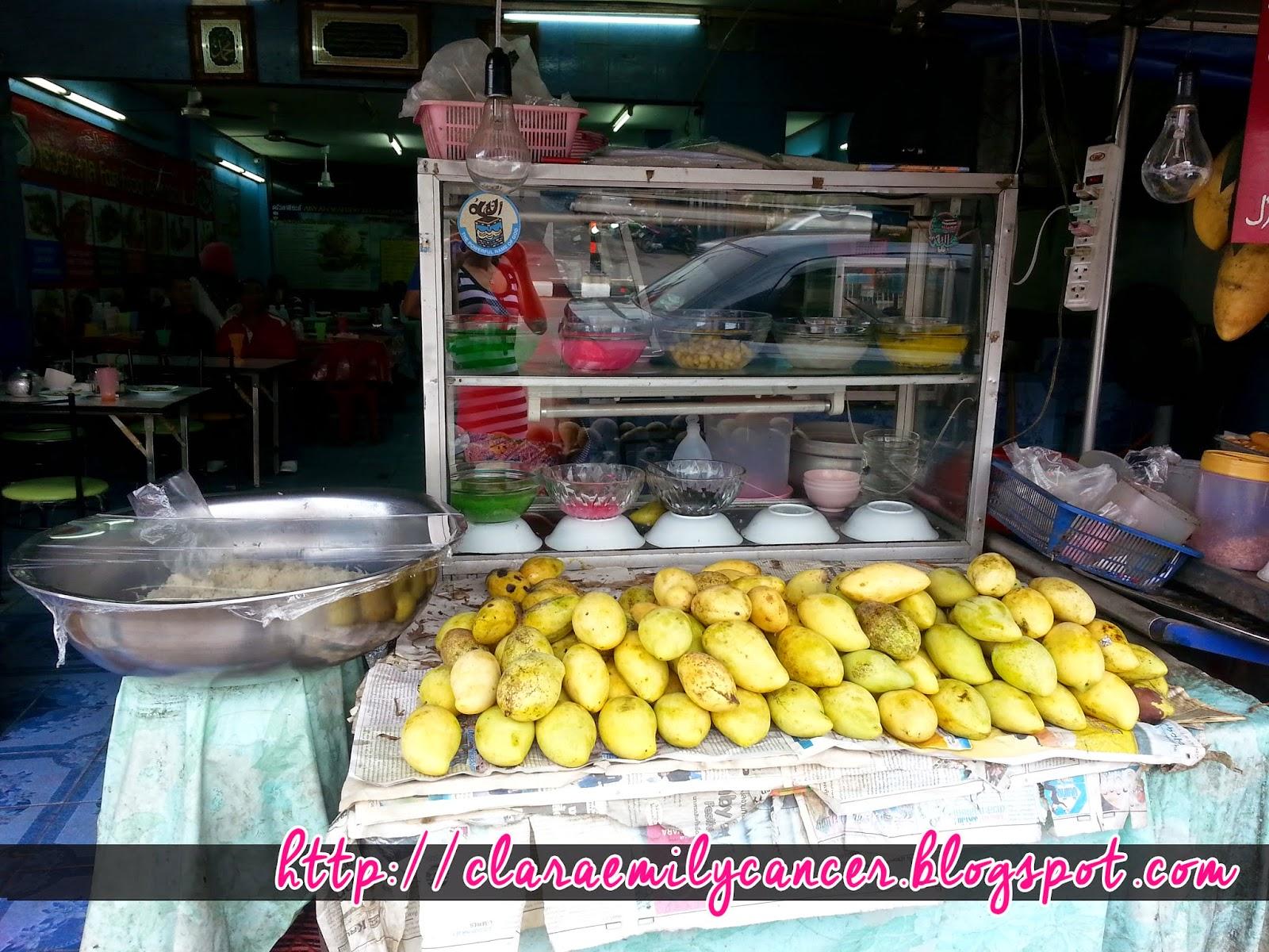 Makanan yang mengujakan di Sempadan - Dannok - Lia Hasty