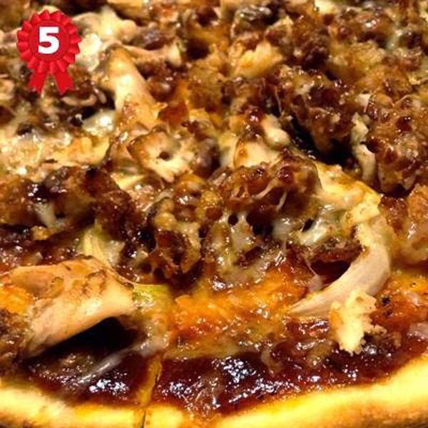 Bon Doys: All-Meat Pizza