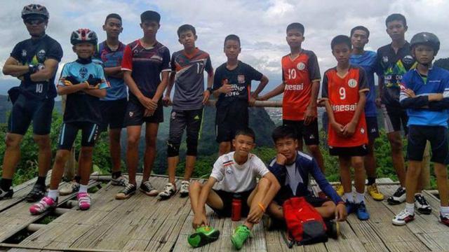 Đội bóng nhí Thái Lan - Win2888vn