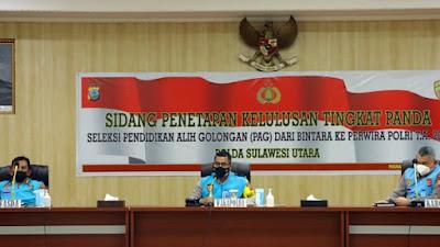 70 Anggota Polda Sulut Ikut PAG 2021