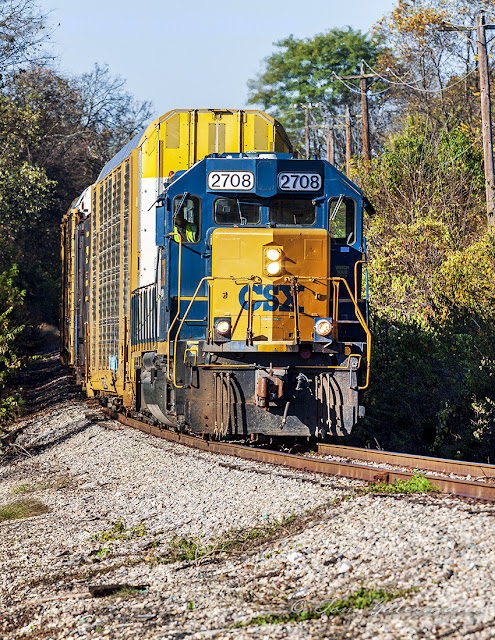 CSX 2708 - Steam Plant Road - Gallatin, TN