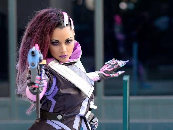 Soni Aralynn con su cosplay de Sombra