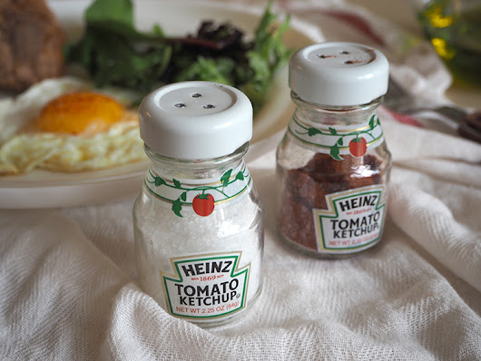 SUGAR LANE: DIY: Heinz Ketchup Salt Shaker