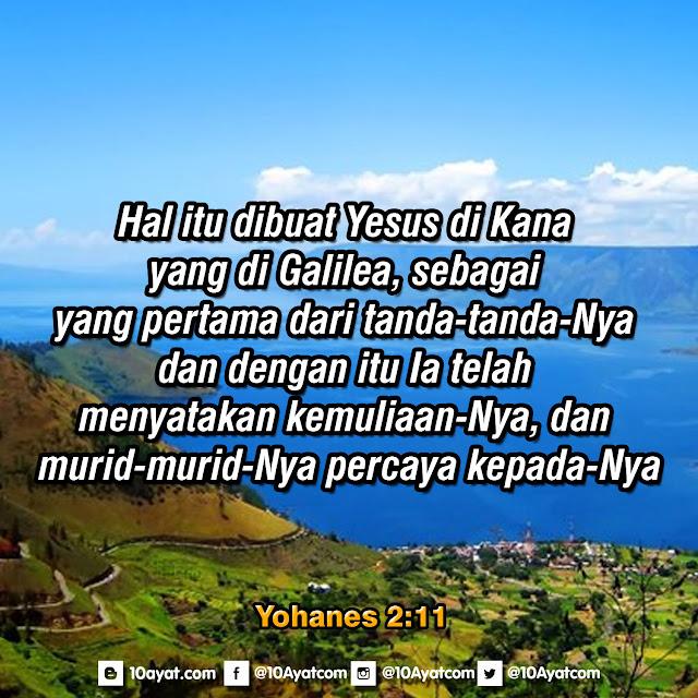 Yohanes 2:11