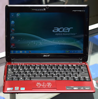 Jual Notebook Acer Aspire One AO531h Red Malang