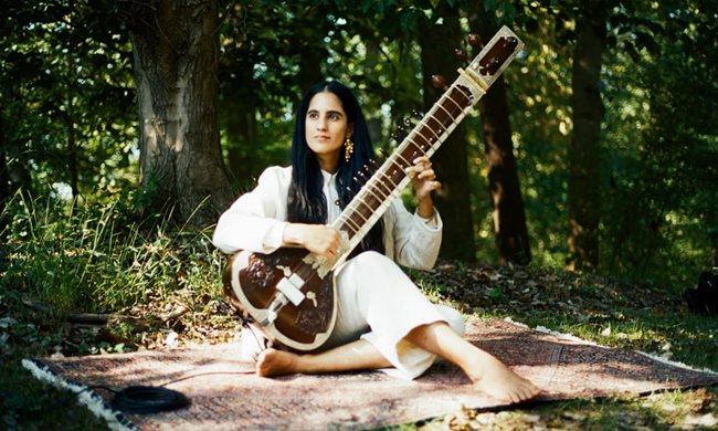 Ami Dang sitar player