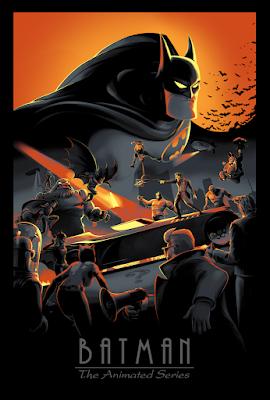 Batman: The Animated Series Screen Print by Juan Ramos x Bottleneck Gallery