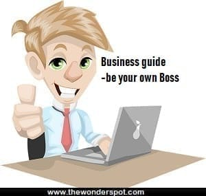 Explain Business concept - Business guide for be your own Boss