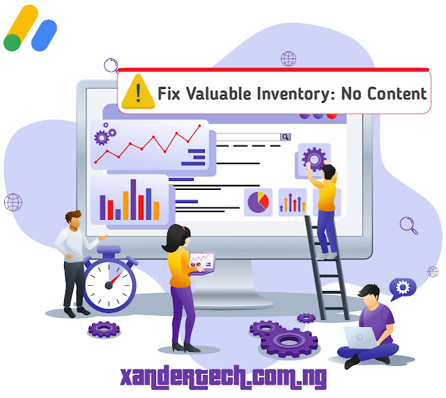How To Get Google Adsense Approval   Fix Valuable Inventory: No Content