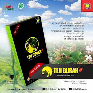 Teh Gurah Nasa, hasil perpaduan ideal antara teh hitam kualitas tinggi