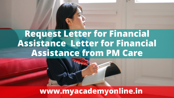 Request Application for Financial Assistance