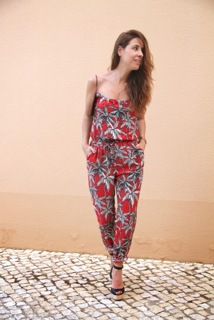 palm print jumpsuit-50260-descalzaporelparque
