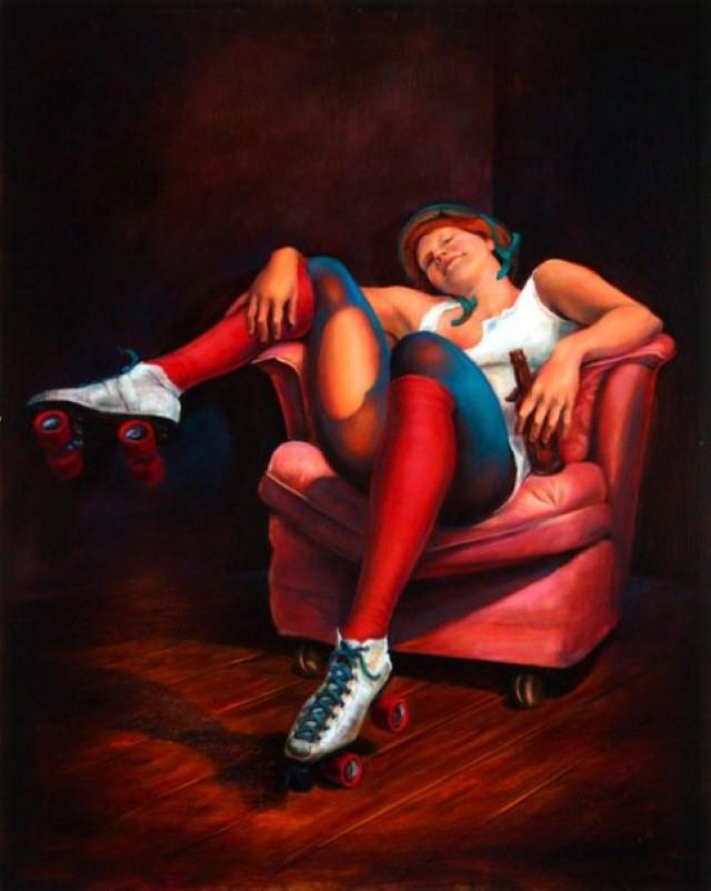 Современный художники Америки. Alexander Rokoff 3