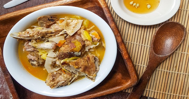 Pork Ribs And Young Jackfruit Soup Recipe
