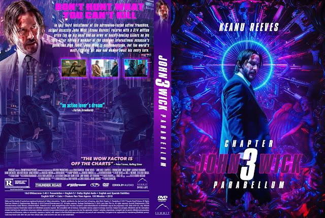 John Wick: Chapter 3 - Parabellum DVD Cover