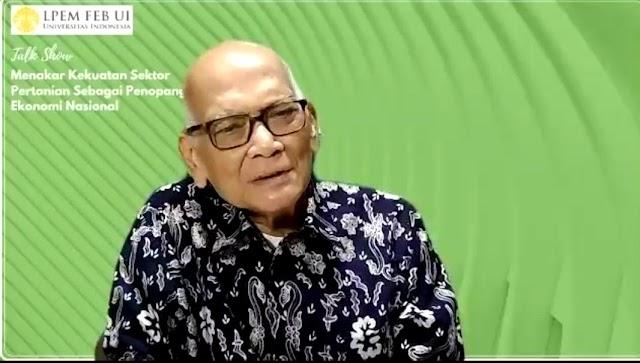 Prof Dorojotun Minta Semua Elemen Jaga Ketersediaan Pangan Nasional