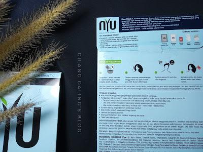 tampilan belakang NYU Haircolor