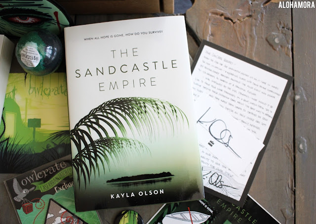 The Sandcastle Empire by Kayla Olson is a sci-fi/dystopia young adult (ya) novel.  This book is fast paced and has some cool science aspects, but the story line is a bit predictable in a cheesy way.  This book came in myJune Owl Crate YA Lit subscription box. Book review. 4 out of 5 stars. Dystopia. Fun Girl power, main girl character saves the day, single day, orphan, water shortage. TV show Lost meets Hunger Games. Alohamora Open a Book alohamoraopenabook http://alohamoraopenabook.blogspot.com/