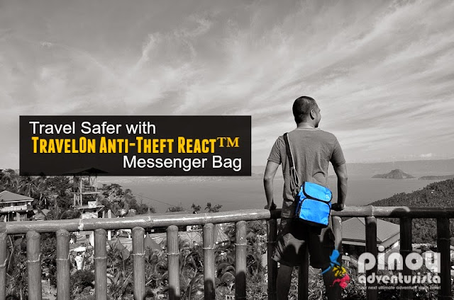 Travel Safer with TravelOn Anti-theft Messenger Bag