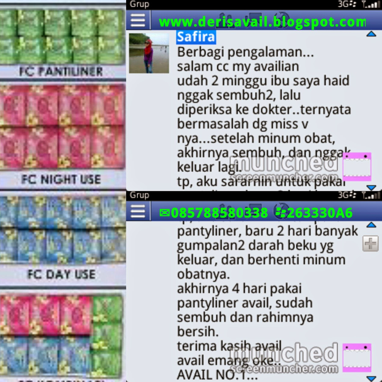 Testimoni Produk Avail Always Very Active In Live Pentiliner